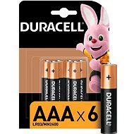 Duracell Basic AAA 6 pcs - Disposable Battery