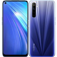 Realme 6 Dual SIM 64GB Blue - Mobile Phone