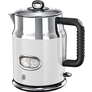 Russell Hobbs 21674-70 Retro Kettle White - Rapid Boil Kettle