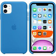 Apple iPhone 11 Silicone Case, Surf Blue - Mobile Case
