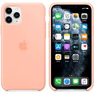 Apple iPhone 11 Pro Silicone Case, Grapefruit Pink - Mobile Case