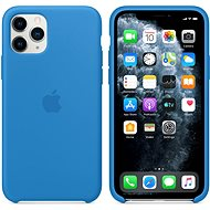 Apple iPhone 11 Pro Silicone Cover, Surf Blue - Mobile Case