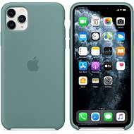 Apple iPhone 11 Pro Max Silicone Cover, Cactus Green - Mobile Case