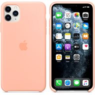 Apple iPhone 11 Pro Max Silicone Cover Grapefruit Pink - Mobile Case