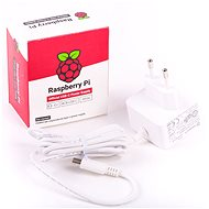 RASPBERRY PI 4 - 5V/3A White - Power Adapter