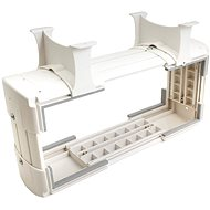 OEM PC Holder Under Table Top, Vertical / Horizontal, up to 30kg, White - PC Holder