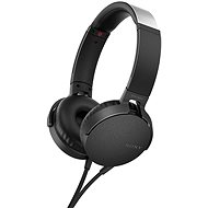 Sony MDR-XB550AP black - Headphones with Mic