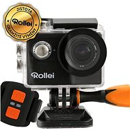 Rollei ActionCam 425 WiFi Black + Spare Battery - Digital Camcorder