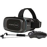 RETRAK Utopia 360° VR + Controller + Headphones - VR Headset