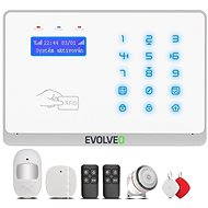 EVOLVEO Salvarix - Wireless WiFi and GSM Alarm with RFID Reader