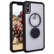 Rokform Crystal Carbon Clear for iPhone XS/X - Mobile Case