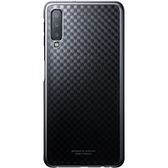Samsung Galaxy A7 2018 Gradiation Cover Black - Mobile Case