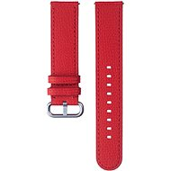 Samsung Braloba Essence Leather Strap Watch Active 2 20mm Red - Řemínek