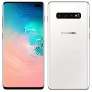 Samsung Galaxy S10 + Dual SIM 1TB Ceramic White - Mobile Phone