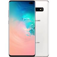 Samsung Galaxy S10+ Dual SIM 128GB Ceramic White - Mobile Phone