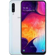 Samsung Galaxy A50 Dual SIM white - Mobile Phone