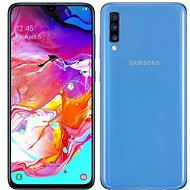 Samsung Galaxy A70 Dual SIM Blue - Mobile Phone