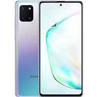 Samsung Galaxy Note 10 Lite, Gradient Silver - Mobile Phone