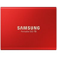 Samsung SSD T5 500GB red - External Hard Drive