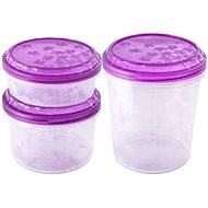 Branq Set of food jars with Rukkola thread - coloured