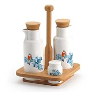 Korkmaz Natura - Seasoning Set (Bird) - Spice Container Set