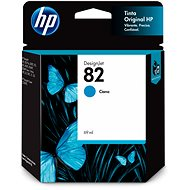 HP 82 69-ml Cyan DesignJet Ink Cartridge (C4911A) - Cartridge