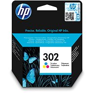 HP 302 Tri-color Original Ink Cartridge (F6U65AE) - Cartridge