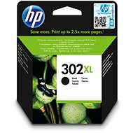 HP 302XL High Yield Black Original Ink Cartridge (F6U68AE) - Cartridge