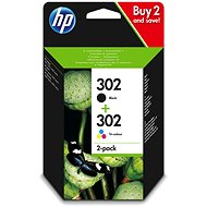 HP X4D37AE No. 302 Combo Pack black, colour - Cartridge