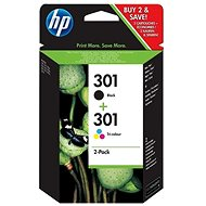 HP N9J72AE no. 301 multipack - Cartridge