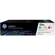 HP CF341A multipack no. 126A - Toner