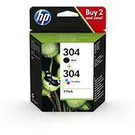 HP 3JB05AE No. 304 Multipack Black + Tri-Colour - Cartridge