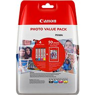 XL Canon CLI-571 C/M/Y/BK Photo Value Pack - Cartridge