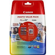 Canon CLI-526 Multipack + PP-201 Photo Paper - Cartridge