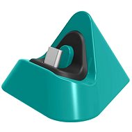 Dobe Charging Stand for Switch Lite, Green - Charger