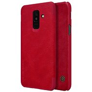 Nillkin Qin Book for Samsung A605 Galaxy A6 Plus 2018 Red - Mobile Phone Case