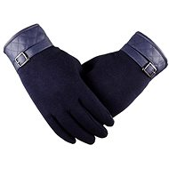 Lea Retro Blue - Gloves