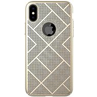 Nillkin Air Case for Apple iPhone XS Max Gold - Mobile Case