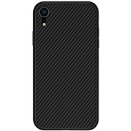 Nillkin Synthetic Fiber Protective Rear Cover for Carbon for Apple iPhone XR Black - Mobile Case