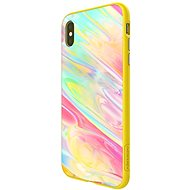 Nillkin Ombre Hard Case for Apple iPhone XR Yellow - Mobile Case