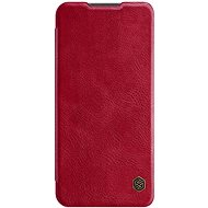 Nillkin Qin Leather Case for Xiaomi Redmi 9, Red - Mobile Phone Case