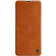 Nillkin Qin for Samsung Galaxy A71 Brown - Mobile Phone Case