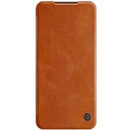 Nillkin Qin Leather Case for Xiaomi Redmi Note 9 Pro/Note 9S Brown - Mobile Phone Case
