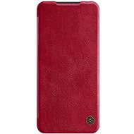 Nillkin Qin Leather Case for Xiaomi Redmi Note 9 Pro/Note 9S, Red - Mobile Phone Case