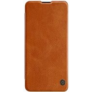 Nillkin Qin Leather Case for Samsung Galaxy A41, Brown - Mobile Phone Case