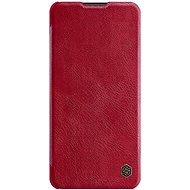 Nillkin Qin Leather Case for Samsung Galaxy A21 Red - Mobile Phone Case