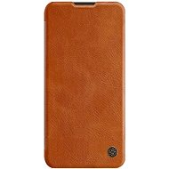 Nillkin Qin Leather Case for Samsung Galaxy A11, Brown - Mobile Phone Case