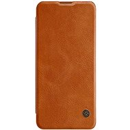 Nillkin Qin Leather Case for Xiaomi Mi 10/10 Pro Brown - Mobile Phone Case