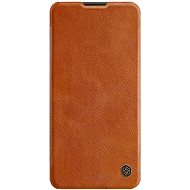 Nillkin Qin for Samsung Galaxy A21s, Brown - Mobile Phone Case