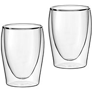 Scanpart Thermal Coffee Glasses - Cappuccino, 2 pcs 300ml - Glass for Hot Drinks